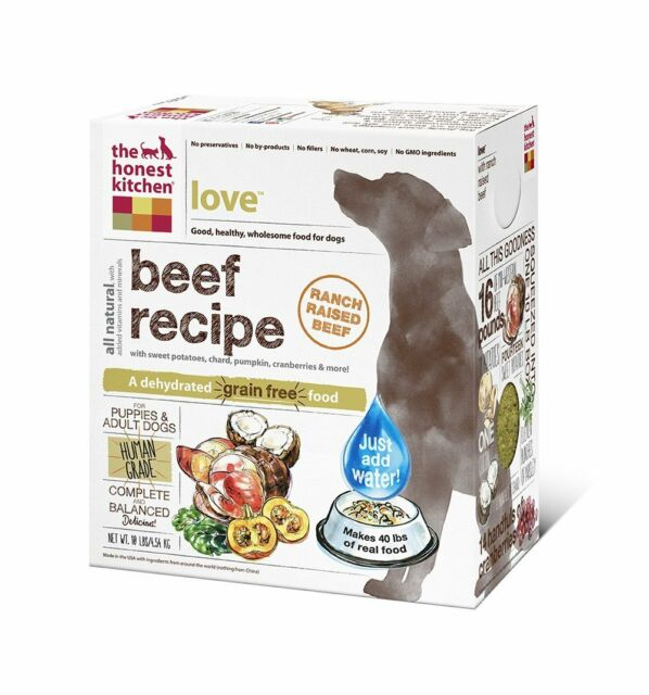 Honest Kitchen Love Grain-Free Dehydrated Dog Food, 10# - SHORT DATE SPECIAL $$