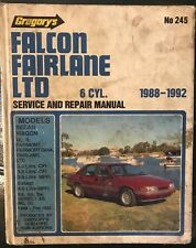 ea eb falcon fairlane ltd repair manual ford factory workshop rh ebay com au Car Owners Manual User Manual PDF