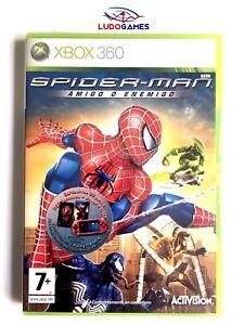 Spiderman-Ami-ou-Ennemi-Xbox-360-Neuf-Scelle-Scelle-Produit-Nouveau-Pal-Spa