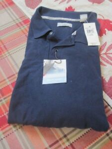 Pierre-Cardin-Men-039-s-Polo-Golf-Shirt-Navy-XL-New-with-Tags