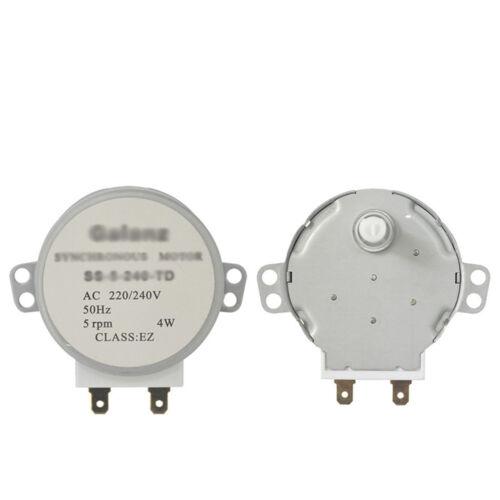 Mikrowellen-Synchron-Plattenspieler Motor für Galanz SS-5-240-TD Kunststoffwelle