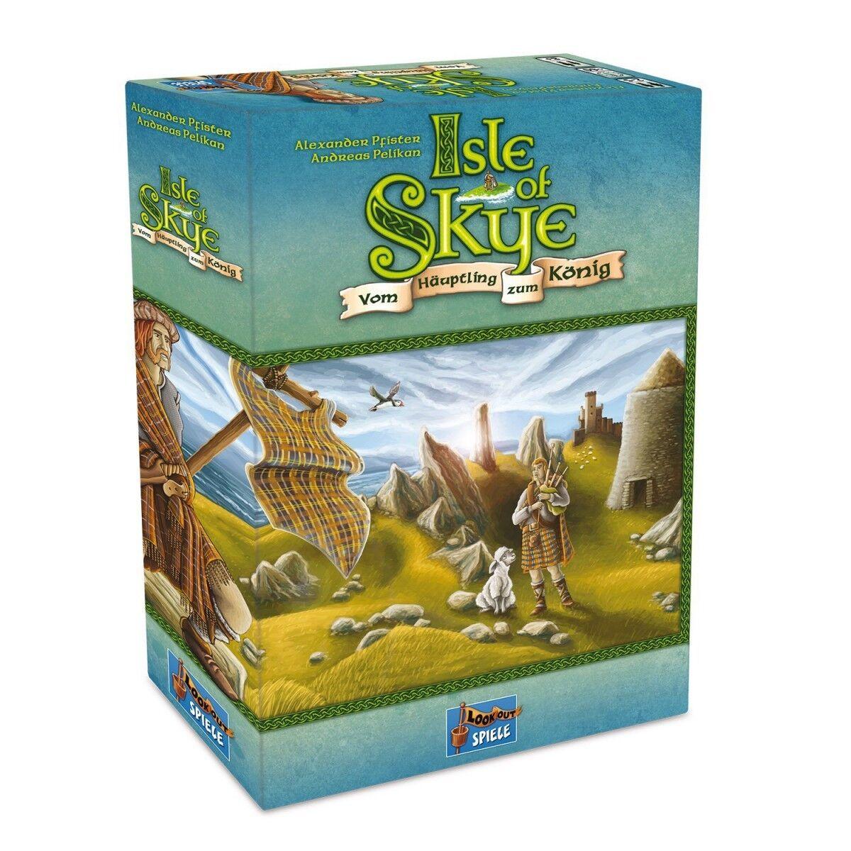 Isle of Skye Vom Häuptling zum König Lookout Games Brettspiel Kennerspiel 2016