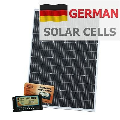 caravans cars etc or with solar panel for remote 12V Bulkhead for use in boats