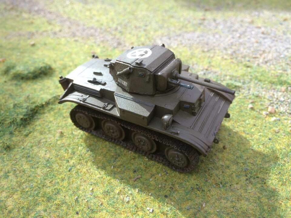 Warlord Bolt Action Tetrarch Light Tank, Pro Painted to to to order 488105