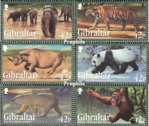 Stamps Gibraltar 1431-1436 Mint Never Hinged Mnh 2011 Affected Species And Digestion Helping