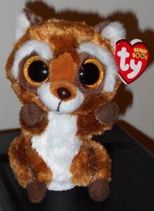 657c02311de Ty Beanie Boos - RUSTY the Raccoon (6 Inch) NEW MWMT 8421369416
