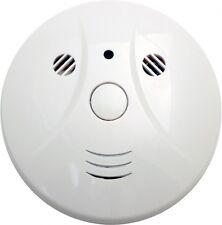 Smoke Detector Covert Hidden Spy Nanny Color Camera DVR 32 GB Internal Memory