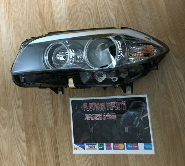 f11 f10 f18 bmw nsf passenger side headlight light lamp halogen 2010-2012 new