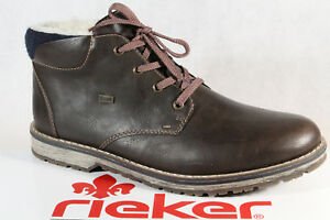 Das Bild wird geladen Rieker-TEX-Herren-Stiefel-Schnuerstiefel-Boots- Winterstiefel-39211- d1cba5ff2c
