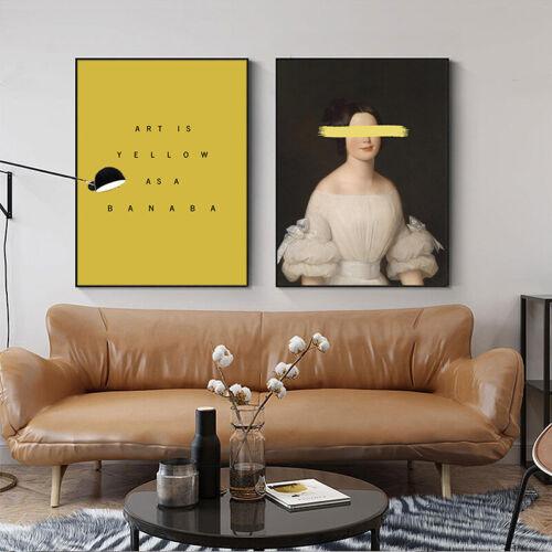 Modern Abstract Sculpture Woman Poster Contemporary Art Print Living Room Decor