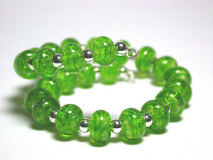 VictoriaGail-Lampworked-Beads-Mossy-Dell-Tiny-Lg