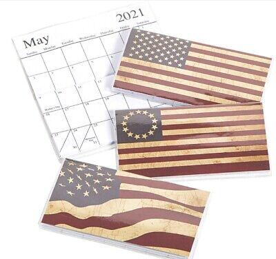 2021-2022 American Flags 2 Year Planner Pocket Calendar ...