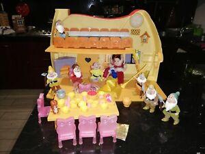 cottage giocattolo biancaneve mattel anni