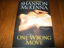 The Mccloud Brothers: One Wrong Move 9 by Shannon McKenna (2013, Paperback)