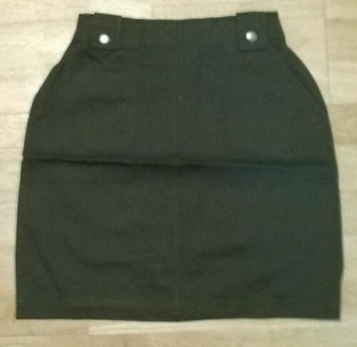 Dark green khaki Girls trendy skirt NEW Age 7,8,9,10,11,12,13 yr old