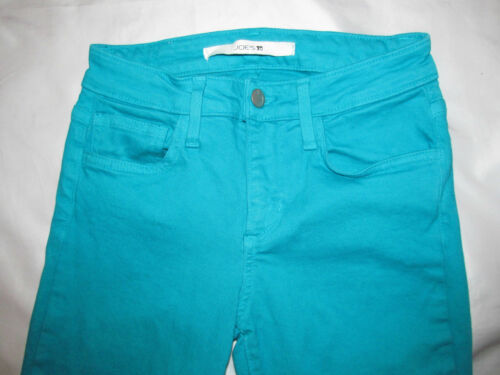 The Joe's In Spruce Jeans Rise Very Strechy Mid 25 Skinny Teal Twill qgqrTfw