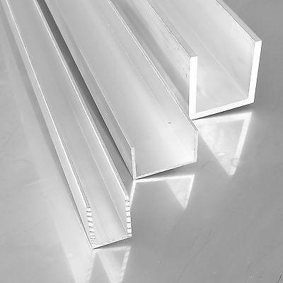 Aluminium U-Profil 20x60x20x2mm Länge wählbar Alu AlMgSi05 F22 Schiene U Winkel