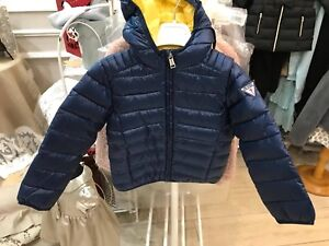 quality design 98708 07e7f Dettagli su Giubbino Bambino Guess Blu 100 grammi