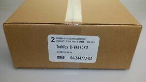Factory-Refurbished-Toshiba-DVR670-DVR670KU-D-VR670KU-DVD-VCR-1-Year-Warranty