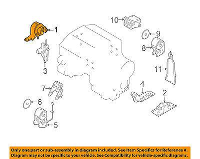 NISSAN OEM 03-07 Murano-Engine Motor Mount/Torque Strut 11210CA00B | eBayeBay