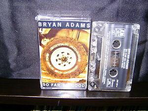 BRYAN-ADAMS-SO-FAR-SO-GOOD-RARE-AUSTRALIAN-CASSETTE-NM