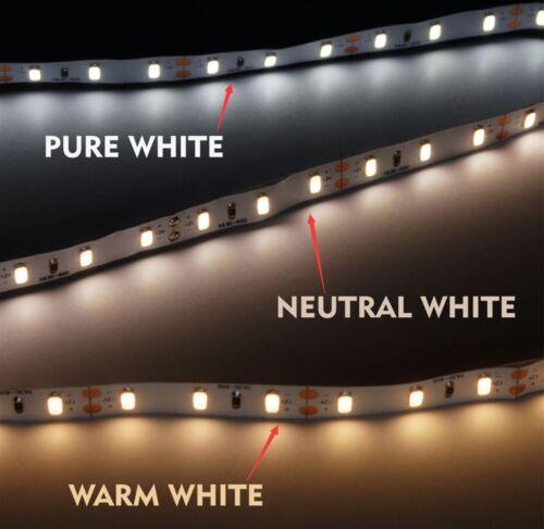 DC12V LED Strip Light SMD5630 Warm White 3000K-3500K Non-waterproof High CRI 80