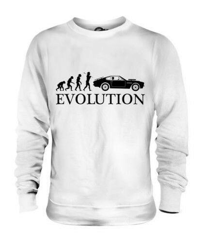 Muscle Car Evolution Of Man Unisex Suéter Hombre Mujer Regalo Americano
