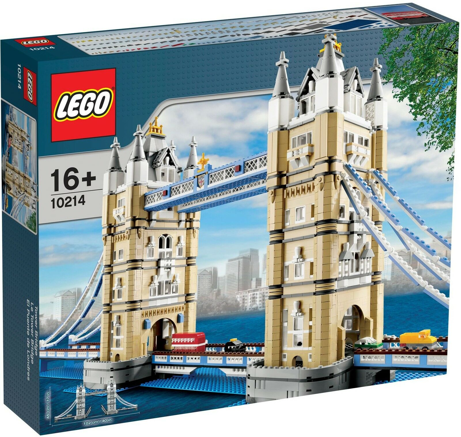 LEGO EXCLUSIF exclusive - 10214 tower bridge-NEUF & OVP