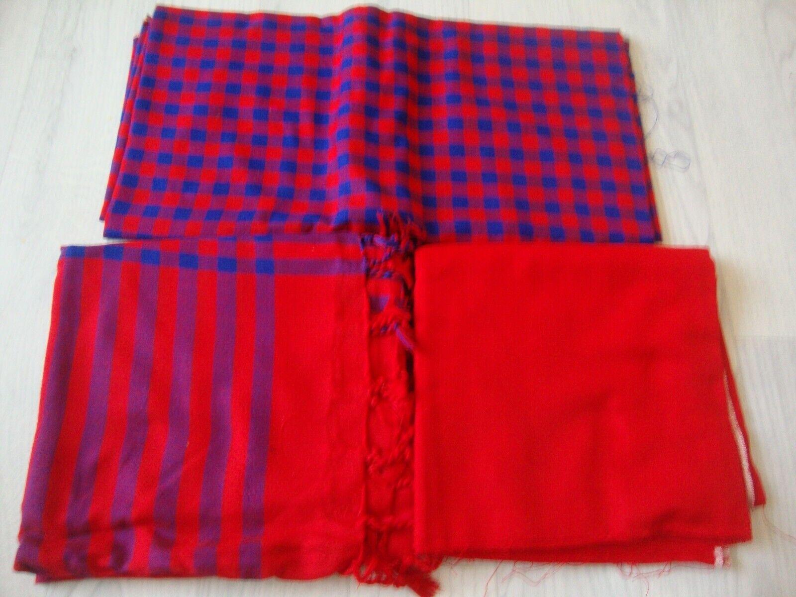 Acrylic Wool 3pc unstitched salwar kameez indian pakistani modern check design