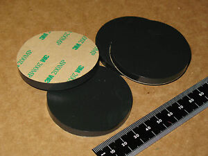 4-SORBO-VIBRATION-ISOLATION-DISC-FEET-PAD-2-25x1-4-50D