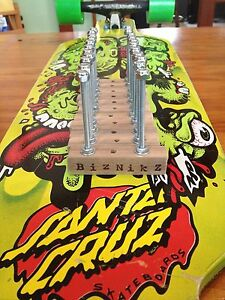 Biznikz-Skateboard-Longboard-Deck-Wall-Skate-Mount-Display-20-pc-set-Hangers