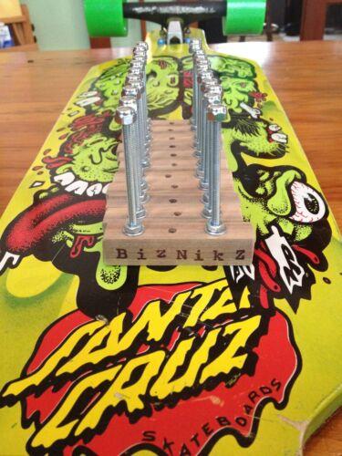 Biznikz Skateboard Longboard Deck Display Wall Mount Hanger 2 pc.set Skate