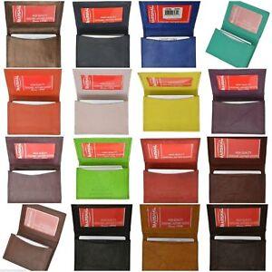 Genuine-Leather-Credit-Card-ID-Business-Card-Holder-Pront-Pocket-Mens-Wallet