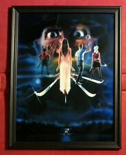A Nightmare On Elm Street 3 Freddy Krueger Movie Poster Framed Print Horror Gift