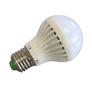 5w 12v led high efficiency light bulb with e27 fitting for solar lighting system ebay. Black Bedroom Furniture Sets. Home Design Ideas