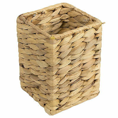 Cutlery Storage Caddy Pot Holder Kitchen Utensil Tool Dining Table Wicker Willow
