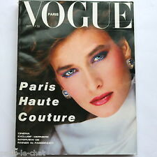 80s Haute Couture VOGUE French fashion a/w 1982 Norman Parkinson Guy Bourdin