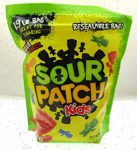 Details about Sour Patch Kids ~ Sour Then Sweet Candy ~ Resealable Bag! ~  1 9 LBS Bag