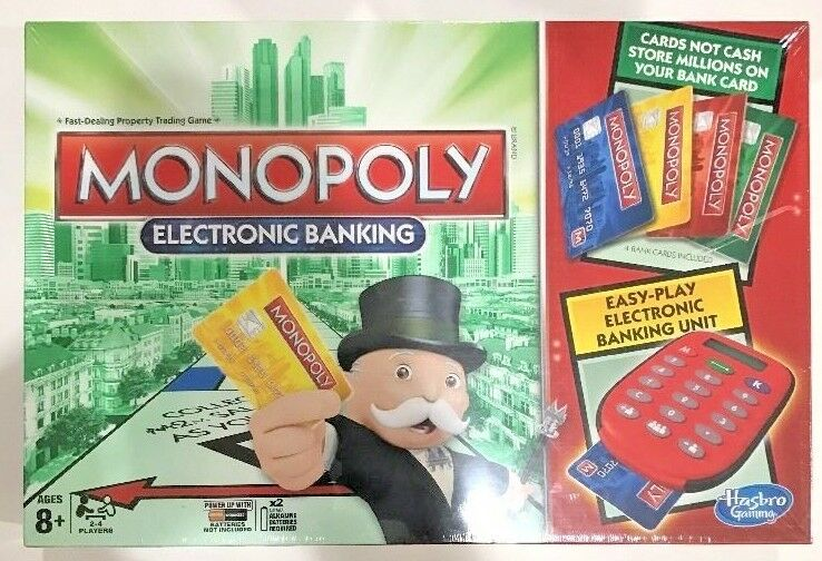 Unused and Unopened Monopoly Electronic Banking Game