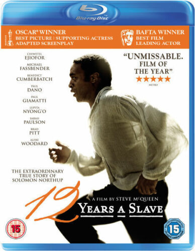 1 of 1 - 12 YEARS A SLAVE****BLU-RAY****REGION B****NEW & SEALED
