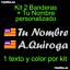 custom name Balearic flag vinyl sticker