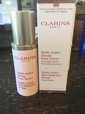 clarins multi active serum