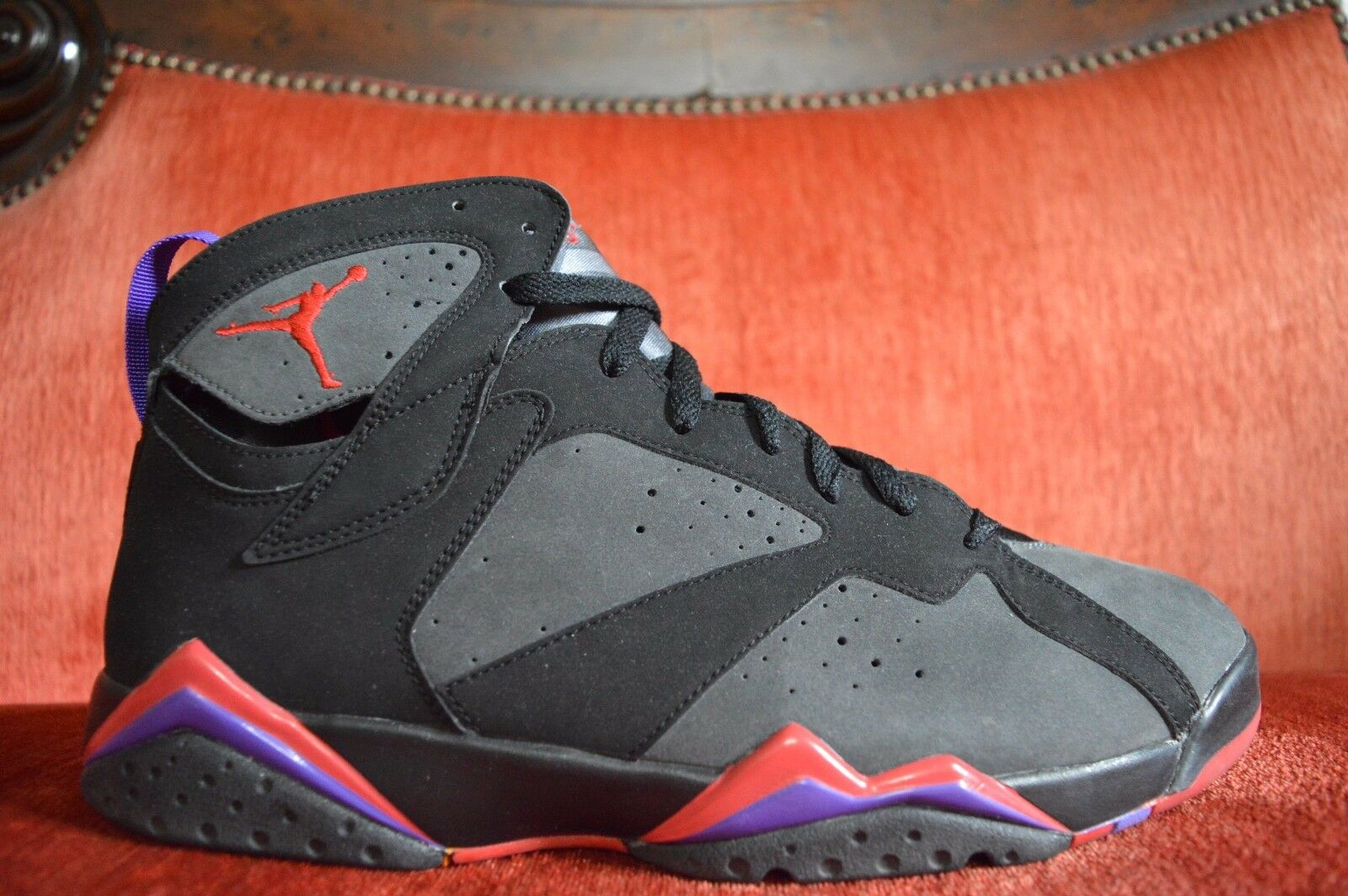 los angeles d3b51 a8fdb WORN WORN WORN 2X Nike Air Jordan VII 7 Retro TORONTO RAPTORS DMP PACK  304775-