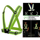 Safety Security High Visibility Reflective Vest Gear Stripes Jacket Adjustable
