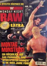 WWF WWE Magazin Monday Night Raw 1996 Wrestling + Riesenposter