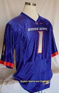 New-Boise-State-Broncos-Nike-1-Home-Football-Jersey-Men-039-s-Sizes
