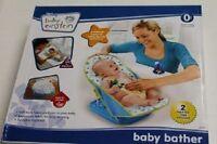 Disney Baby Einstein Bather Cradles & Supports Baby During Bathtime W/ 2 Toy