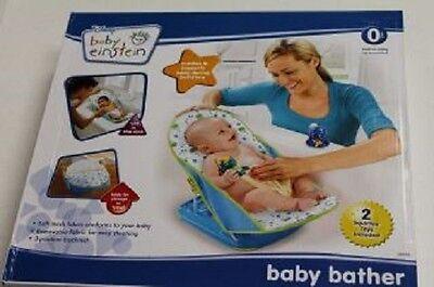 NEW DISNEY BABY EINSTEIN BATHER CRADLES & SUPPORTS BABY DURING BATHTIME w 2 TOY | eBay