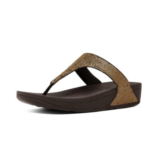 5 post Strap Electra 8 Micro Dressy Uk 6 Style Toe 7 Sequin Fitflop Women's qUpPwgq