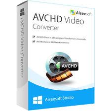 Aiseesoft AVCHD Converter WIN dt.Vollversion-lebenslange Lizenz ESD Download